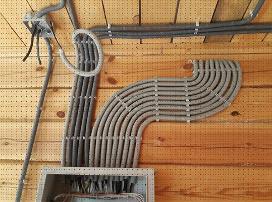 Электромонтаж коттеджа 2 этажа